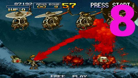 8 metal slug تحميل لعبة ميتال سلوق حرب الخليج Metal Slug Brutal 2