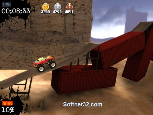 b0 تحميل لعبة سباق الشاحنات العملاقة Monster Truck Challenge