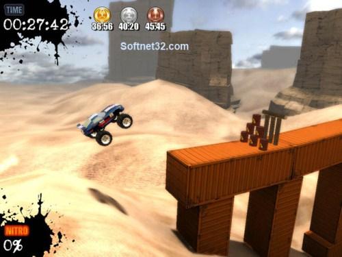 b2 تحميل لعبة سباق الشاحنات العملاقة Monster Truck Challenge