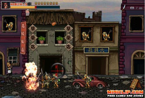 commando 2 snap 3 تحميل لعبة ميتال سلوق كوماندو Metal Slug   Commando 2