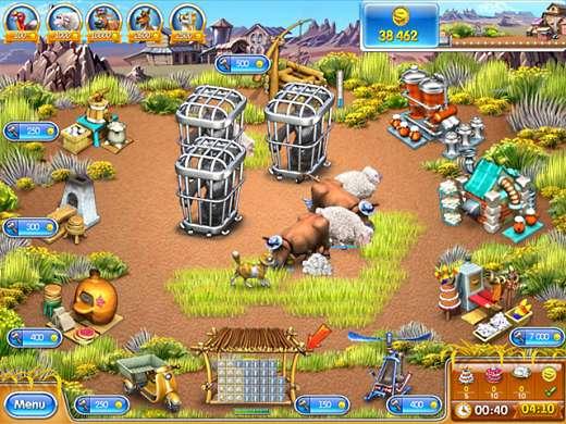 تحميل لعبة المزرعة السعيدة فارم فرنزي 3 Farm Frenzy مجانا للكمبيوتر