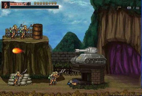 metal slug 19 تحميل لعبة ميتال سلوق كوماندو Metal Slug   Commando 2