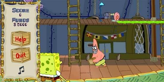 لعبة سبونج بوب Spongebob للاطفال للتحميل برابط مجاني على الكمبيوتر