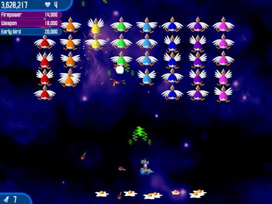 Chicken Invaders The Next Wave 2012 Full تحميل تنزيل لعبة حرب الفراخ في الفضاء مجاناً    لعبة حرب الدجاج