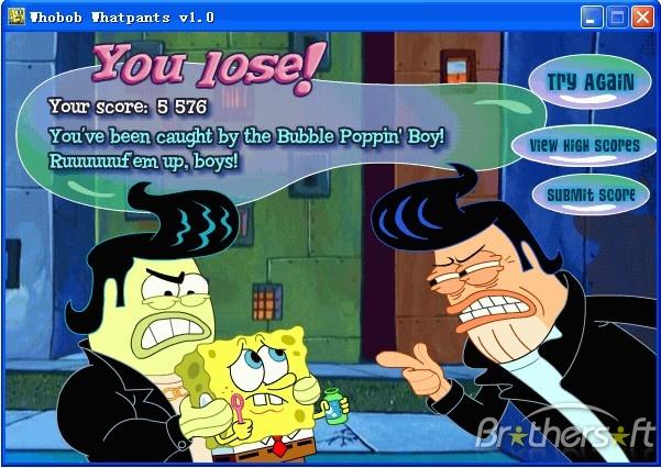تنزيل تحميل لعبة سبونج بوب Spong Pop مجانا برابط واحد