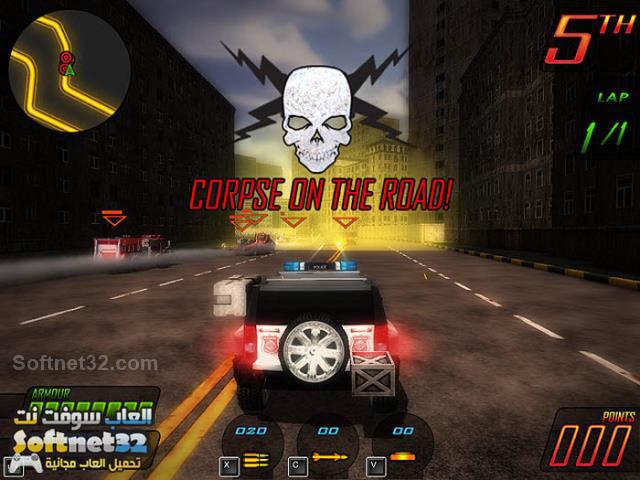 Apocalypse Motor Racers1 لعبة سيارات المدينة المقاتلة للتحميل مجانا رابط مباشر Apocalypse Motor Racers
