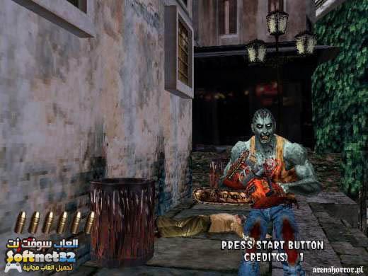 The House of the Dead 4 لعبة بيت الأموات الجزء الثاني برابط مباشر The House of the Dead 2