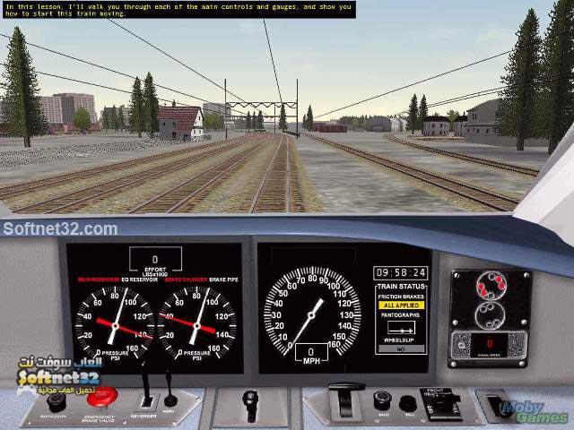 تحميل لعبة قيادة القطار القطار الحقيقي كاملة مجانا