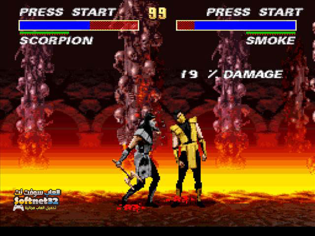 download Mortal Kombat 3 تنزيل لعبة القتال والاكشن مورتال كومبات 3 مجانا كاملة Mortal Kombat 3