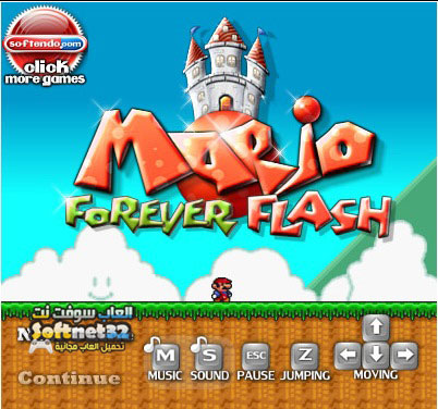 Mario Forever Flash downlaoder