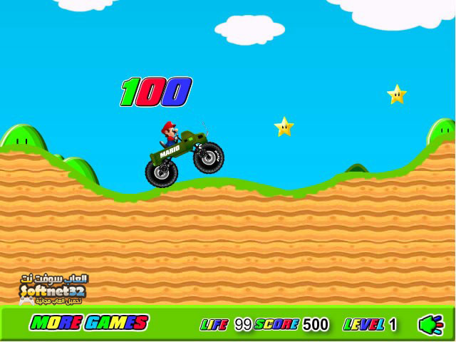 download Super Mario Truck Rider