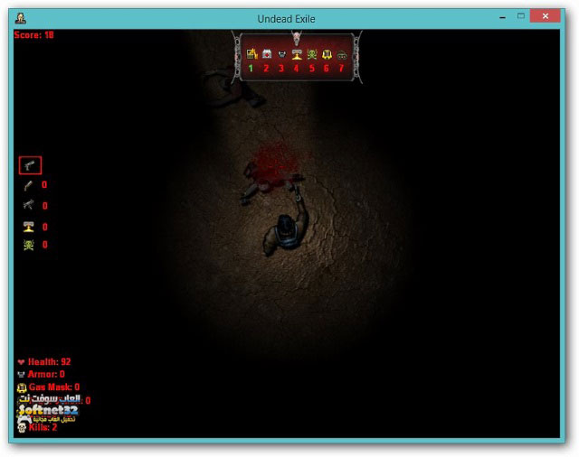 free action game pc Undead Exile