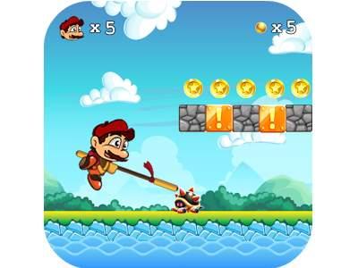 تحميل لعبة مغامرات فتى الادغال ماوكلي 2 Super Adventure Island مجانا كاملة