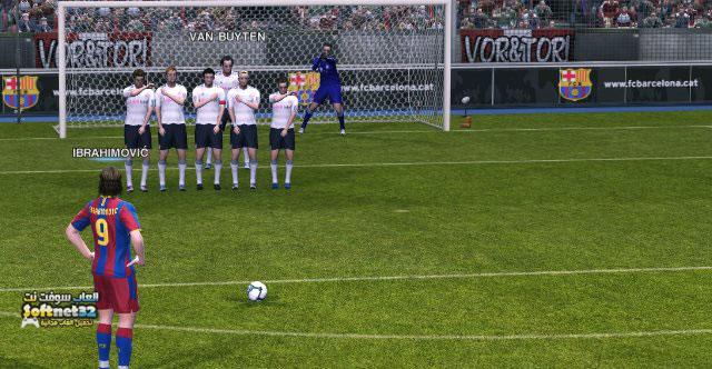 تحميل لعبة كرة القدم بيس PES 2017 للكمبيوتر Soccer