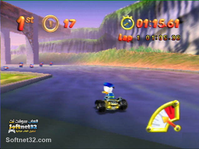 free download Mickey no Racing Challenge USA لعبة ميكي ماوس سباق السيارات مجانا Mickey no Racing Challenge