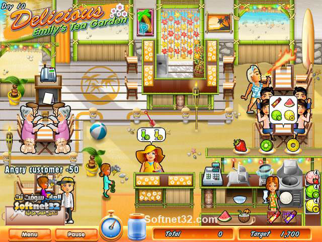 download  Delicious - Emily's Tea Garden
