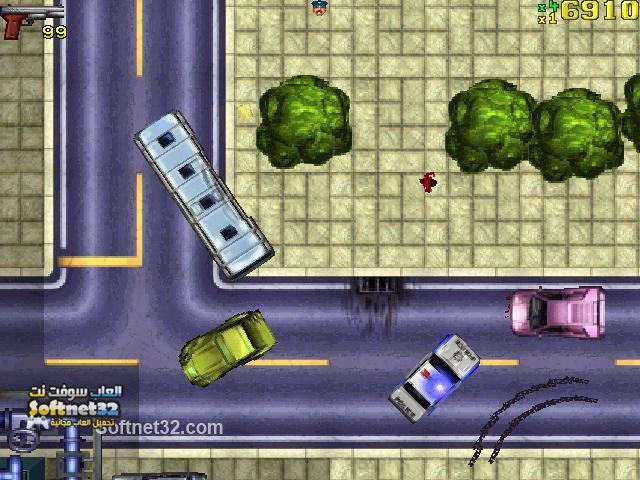 تحميل لعبة جراند اوتو ثيفت حرامي السيارات Grand Theft Auto مجانا