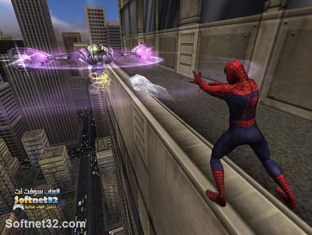 تحميل لعبة سبايدر مان Spider Man The Movie برابط مباشر