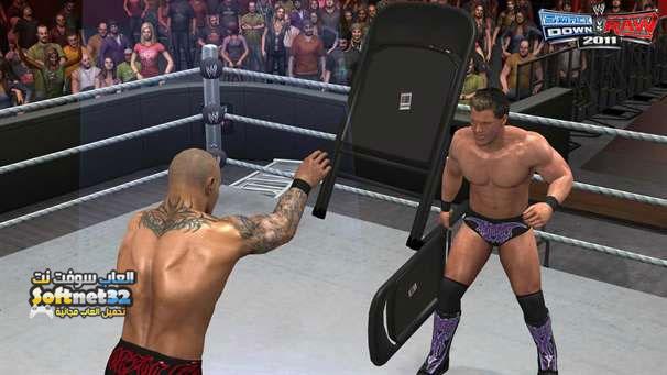 تحميل لعبة المصارعة برابط واحد للكمبيوتر WWE Raw smackdown