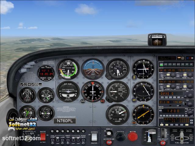 تحميل لعبة قيادة الطائرات المدنية الحقيقية Flight Simulator برابط واحد