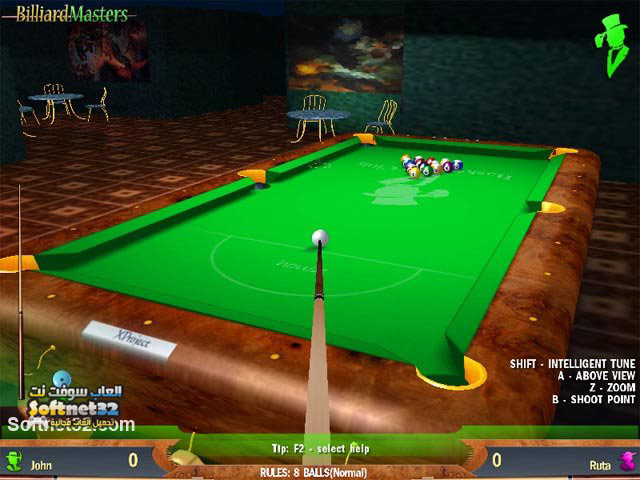 download free Billiard Masters