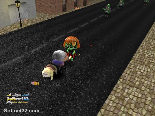 تنزيل ألعاب زومبي خفيفة مجانا للكمبيوتر GrandMa vs Zombies