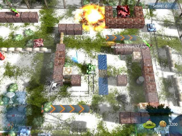 تحميل افضل العاب حربية خفيفة للكمبيوتر لعبة عاصفة الصحراء Battle Ground