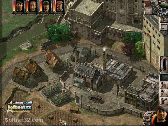 تحميل لعبة الكوماندوز للكمبيوتر مجانا رجال المغاوير Commandos