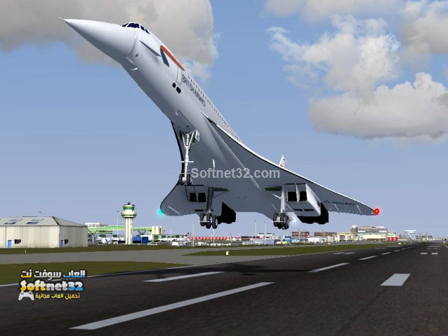 Realistic flight simulator games download free تحميل لعبة محاكاة الطيران وقيادة الطائرة الحقيقية FlightGear برابط واحد مجانا