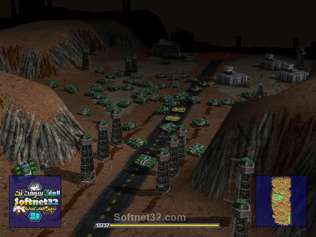 تحميل لعبة Warzone 2100