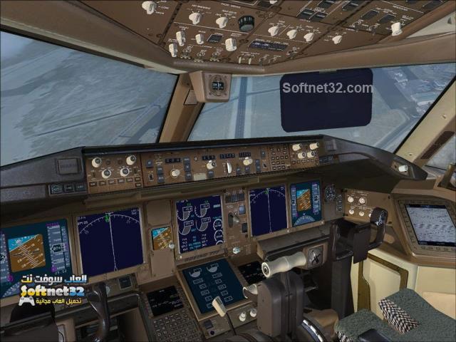 تحميل لعبة قيادة الطائرة من الداخل
