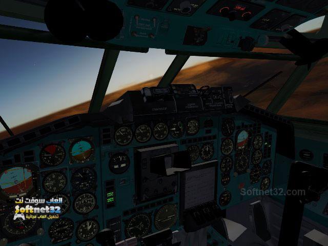 download FlightGear تحميل لعبة محاكاة الطيران وقيادة الطائرة الحقيقية FlightGear برابط واحد مجانا