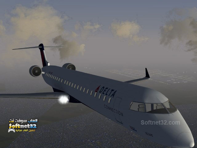 free download FlightGear تحميل لعبة محاكاة الطيران وقيادة الطائرة الحقيقية FlightGear برابط واحد مجانا