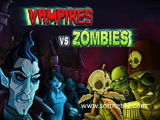 تحميل لعبة الزومبي ضد مصاصي الدماء Vampires Vs Zombies