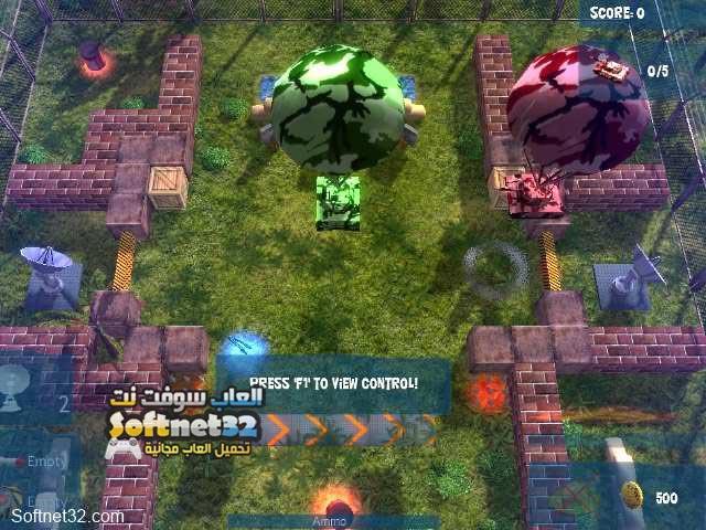 تحميل لعبة حرب الدبابات Battle Ground للكمبيوتر