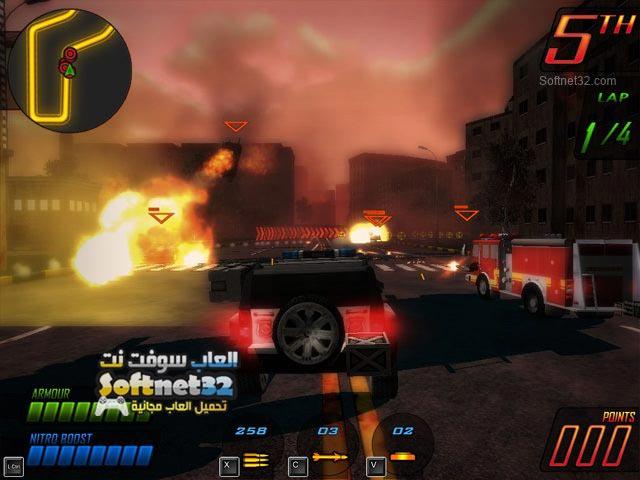 تحميل لعبة السباق المميت Deadly Race برابط مباشر للكمبيوتر
