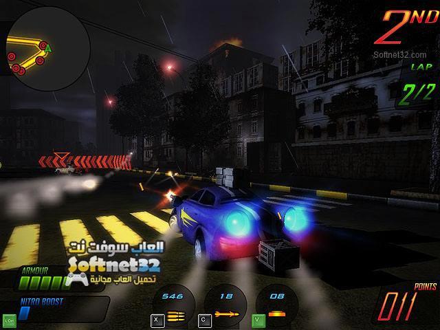 تحميل لعبة السباق المميت Deadly Race للكمبيوتر