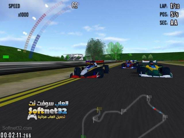 تحميل العاب لعبة سباق السيارات Hot Racing للكمبيوتر