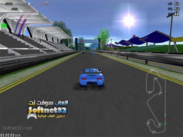 تحميل العاب لعبة سباق السيارات Hot Racing مجانا للكمبيوتر