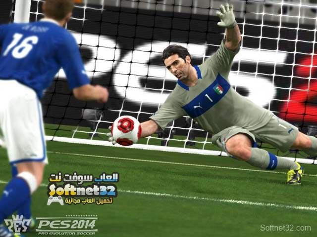 تنزيل لعبة بيس 2014 Pro Evolution Soccer PES مجانا للكمبيوتر