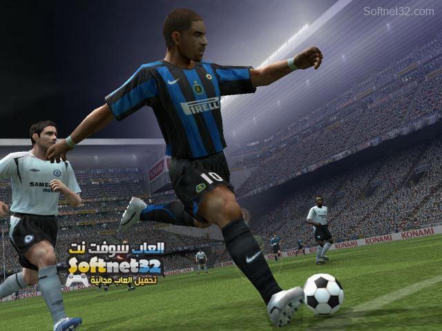 تحميل لعبة بيس Pro Evolution Soccer PES 6