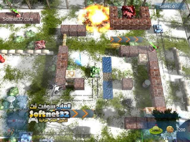 لعبة حرب الدبابات Battle Ground مجانا للكمبيوتر