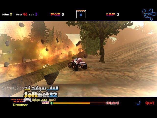 تحميل لعبة السيارات الجبلية 4x4 Dream Race مجانا للكمبيوتر