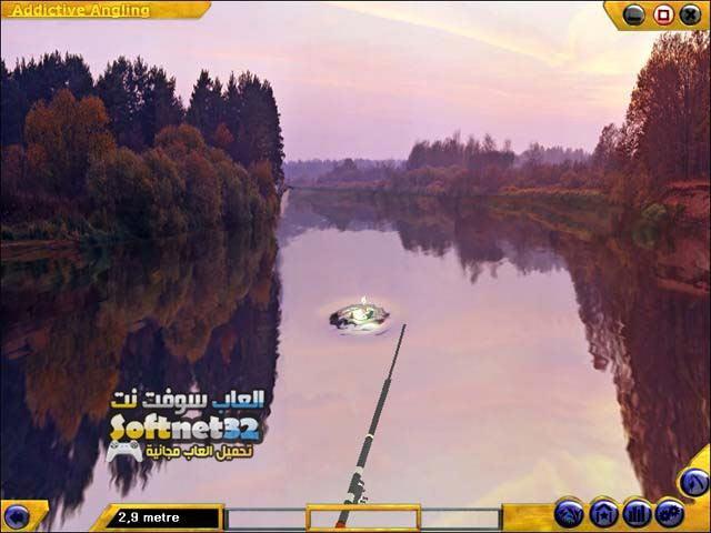 تحميل لعبة صيد السمك Addictive Angling مجانا للكمبيوتر
