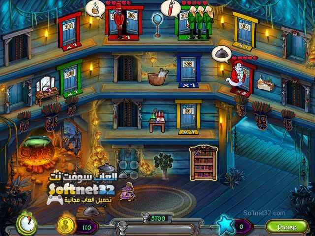 تحميل لعبة فندق الزومبي Haunted Domains برابط مباشر مجانا