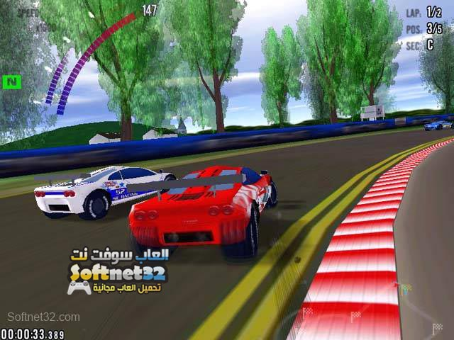 تحميل لعبة سباق السيارات السريعة Ringed Drag Strip مجانا