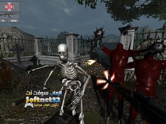 تحميل لعبة جحيم الموت Nightmare Shooter مجانا