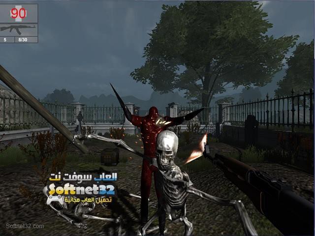تحميل لعبة الزومبي المتوحش Nightmare Shooter مجانا
