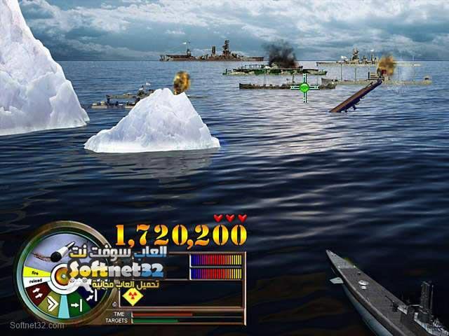 تحميل لعبة حرب الاسطول البحرية Pearl Harbor Fire on the Water