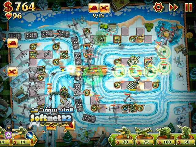 تحميل لعبة الدفاع العسكرية Toy Defense 2 للكمبيوتر